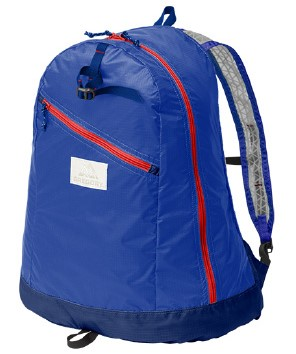 Gregory Day Pack LT-Blue Red