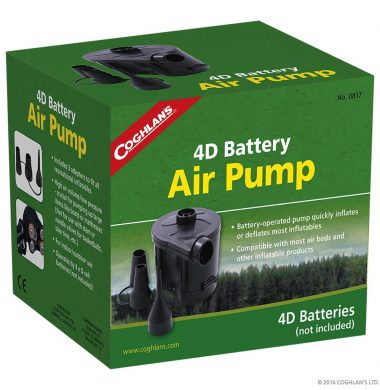 Coghlan's BATTERY POWERED AIR PUMP電池電泵