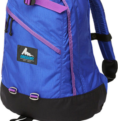 Gregory Daypack -BLUE LETTER-BLUE/PURPLE(40th)